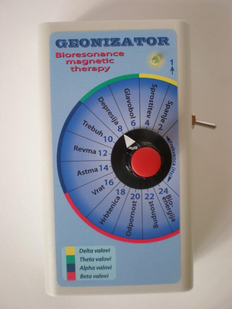 Geonizator ta theta samozdravljenje
