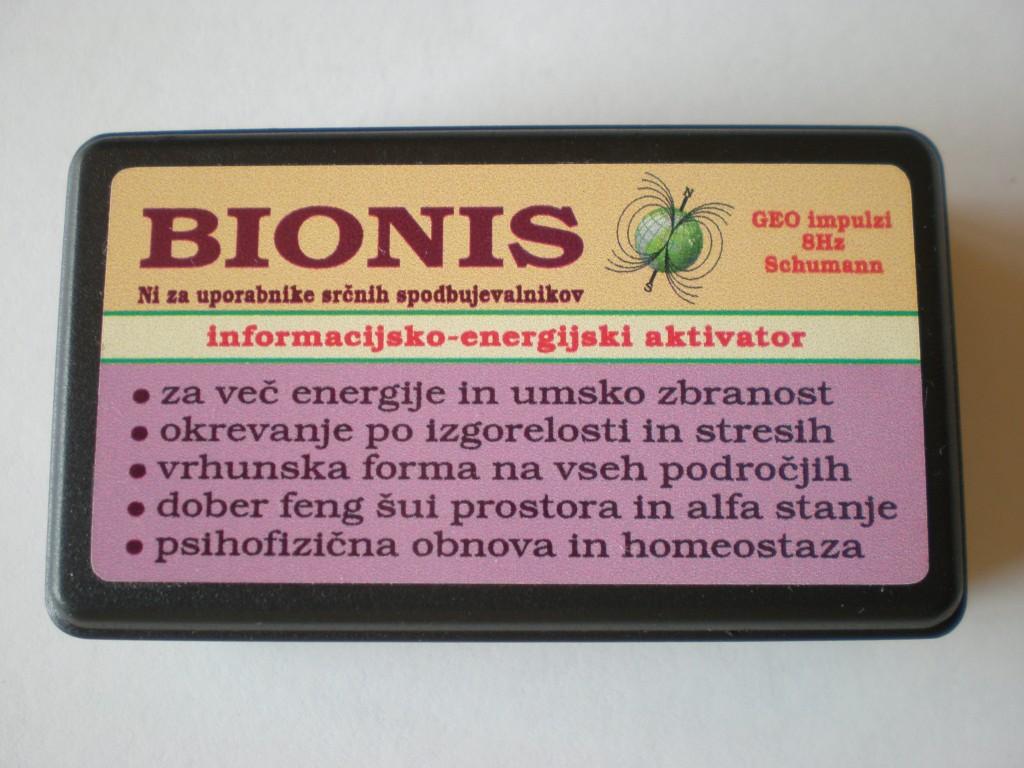 Bionis oddaja geo impulze