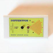 DETEKTOS je detektor zdravju škodljivega izmeničnega električnega polja okoli električnih naprav in napeljav v hiši