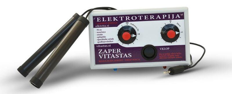 Bolečine prežene Elektroterapija Zaper Vitastas z električnimi impulzi električnega skata ALKIVITA