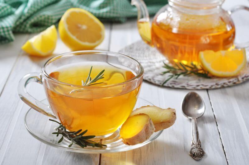 rožmarinov čaj malo drugače