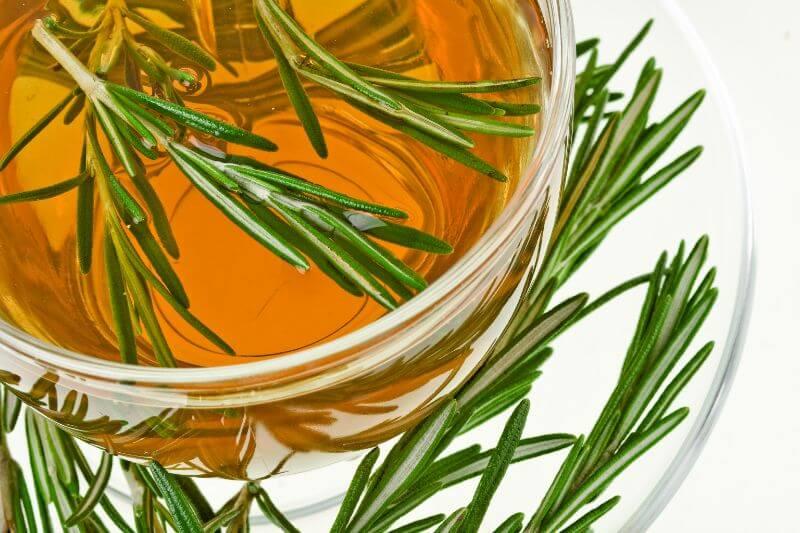 skuhamo rožmarinov čaj za zdravje